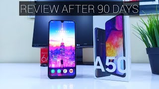 Samsung Galaxy A50 Full REVIEW After 90 Days   Better Than Galaxy M40?