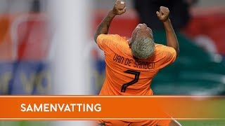 Highlights: Oranjeleeuwinnen - Denemarken (5/10/2018) WK 2019 Play-off