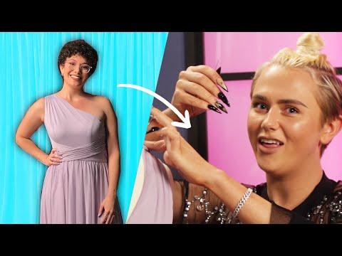 I Challenged A Fashion Designer To Transform My Bridesmaid Dress