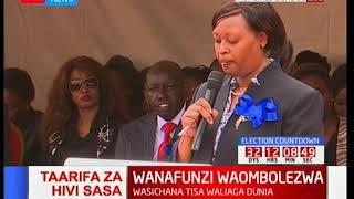 Maombolezi Moi Girls kutokana na kifo cha wanafunzi tisa waliofariki