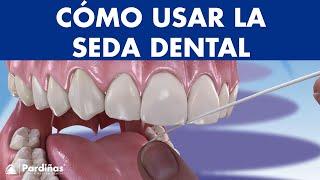 Cómo usar el HILO DENTAL y el limpiador de lengua ©