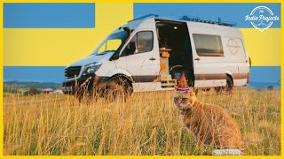 VAN LIFE In Sweden | His Birthday Was A Disaster