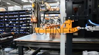 Automatic production line for wooden terrace frames (BOS-FRAM-H-ROBOT)