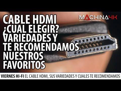 CABLES HDMI ¿COMO ELEGIR EL MEJOR PARA TU TV 4K O HOME THEATER? TE RECOMENDAMOS NUESTROS FAVORITOS