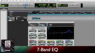 Using 7 Band EQ in PRO TOOLS