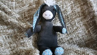 Esel von Stefanie Perlenfee nähen - kostenloses Schnittmuster