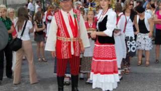 preview picture of video 'Dożynki powiatu kieleckiego Raków 2009'