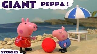 Peppa Babi Inggris Episode Kompilasi Dengan Paw Patrol Toys Dan Thomas Dan Friends Family Fun TT4U
