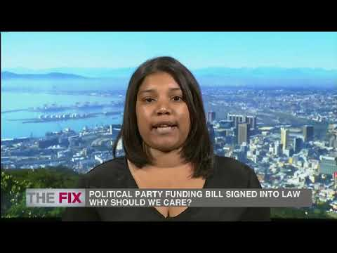 The Fix Ramaphosa's signing of political party funding bill 27 January 2019