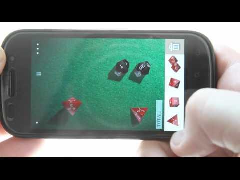 Video of DiceShaker D&D