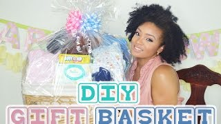 HOW TO/DIY GIFT BASKET | BABY SHOWER