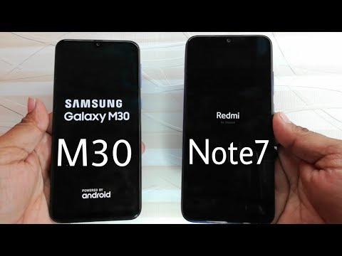 Samsung Galaxy M30 vs Redmi Note 7 Speed Test Comparison?