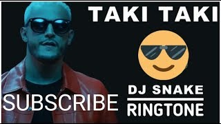 taki taki ringtone by dj snake, taki taki ringtone for iphone, taki taki ringtone for mobile
