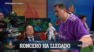 """Tomás Roncero A Cristóbal Soria: """"CRISTIANO TE QUIERE Porque Le Das MUCHA SUERTE"""""""
