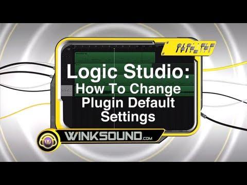 Logic Pro: How To Change Plugin Default Settings   WinkSound