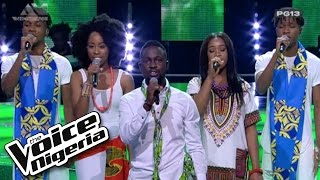 "The Top 16 Sing ""Great Nation""  Live Show  The Voice Nigeria 2016"