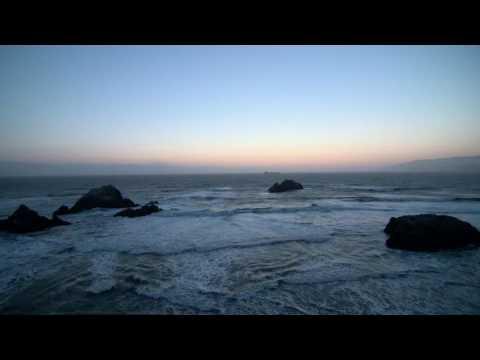 Редкие горные породы,море,прибой,закат