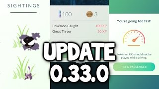 Pokemon GO ★ NEW UPDATE  Tracking Fixed Throwing XP Fixed Name Change & Battery Saver On IOS