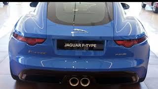 2018 Jaguar F-TYPE X152 MY19 R-Dynamic Quickshift RWD 250kW Ultra Blue 8 Speed Sports Automatic
