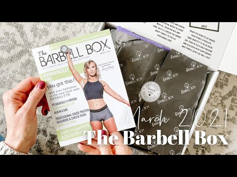 The Barbell Box Unboxing March 2021