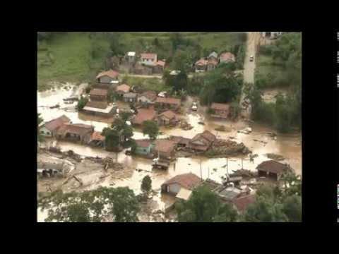 Enchente em Itaoca SP.