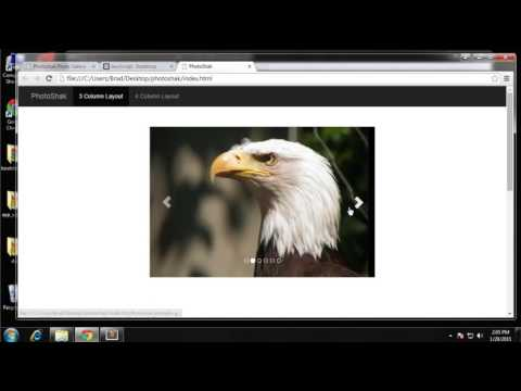 Build a Photo Gallery UI using Bootstrap - Part 4
