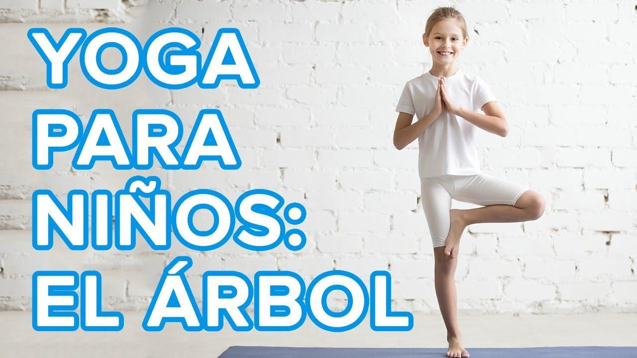 Yoga para niños: La postura del árbol o Vrksasana ???? | Asanas de yoga para la familia