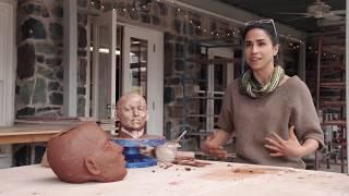 Sculptor Cristina Córdova, IDENTITY Episode