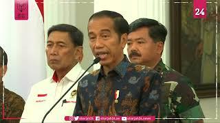 جوكو ويدودو: لا تساهل مع زعزعة الأمن في إندونيسيا