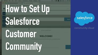 How to Setup Salesforce Customer Community?
