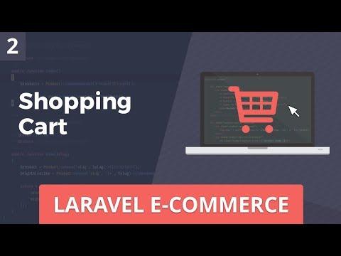 Laravel E-Commerce - Shopping Cart - Part 2 - Andre Madarang - thtip com