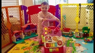 V-Tech Sit To Stand Learning Walker Review - Baby Walker Review - Vtech Sit-to-Stand Learning Walker