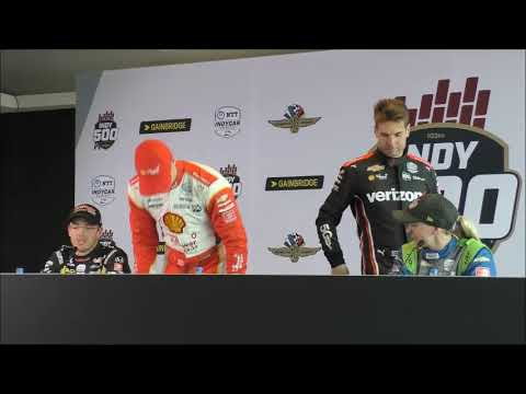 2019 Indy 500 Qualifying Day 1 Press Conference