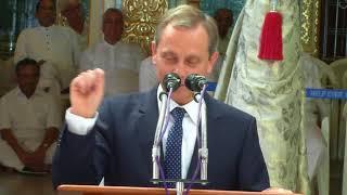 Ομιλία του Γιώργου Μπεμπεδέλη στο Πρασάντι Νίλαγιαμ, στις 21 Νοεμβρίου 2017