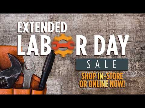 Labor Day Sale Extended - 2019