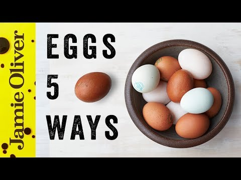 Video 5 Things to do With... Eggs | Food Tube Classic Recipes | #TBT