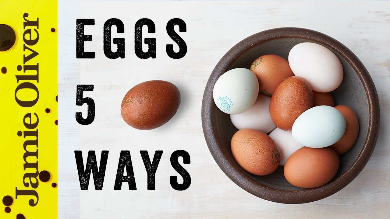 5 Things to do With… Eggs