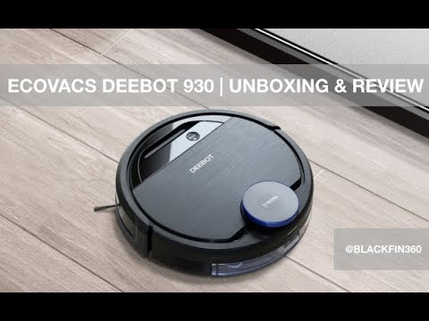 Ecovacs Deebot Ozmo 930 Robotic Vacuum Unboxing & Review
