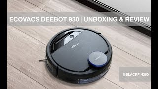 Ecovacs Deebot Ozmo 930 Robotic Vacuum Unboxing & Review