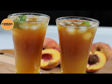 Peach Iced Tea Recipe By Cooking Mount