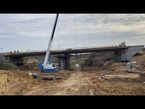 Prace przy obiekcie mostowym WG-3
