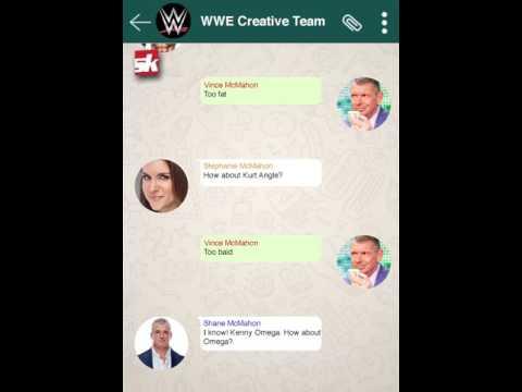 Fake Whatsapp Chat: WWE Creative's reason behind Roman