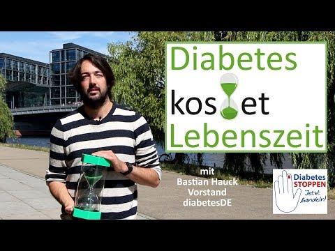Medikamente für Diabetiker erforderlich