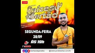 Programa Raízes do Sertão, com Ângela Aquino e Rarysson Araujo