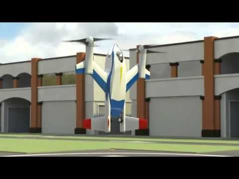 NASA's new machine: helicopter and a plane combined