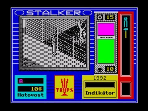 Stalker Walkthrough, ZX Spectrum