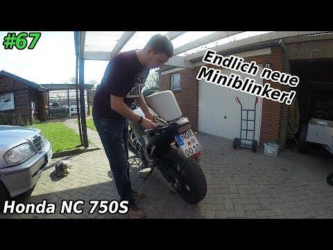 Werkstatt | Neue Miniblinker kommen ans Motorrad | Honda NC 750s | Mr. Moto