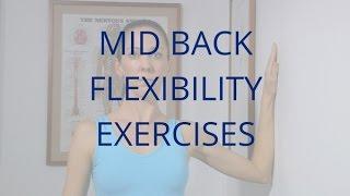 Mid Back Flexibility Exercises