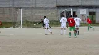preview picture of video 'Gol di Russo Antonio su Punizione in Bagaladi Melisconca 4-3'