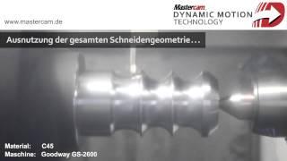 Dynamisches Drehen mit Mastercam